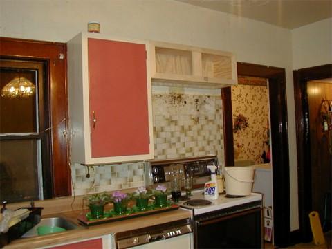 microwave/hood area, July 3, 2000